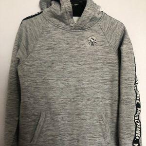 Abercrombie kids.Boy Gray hoodie size 15/16.Fleece